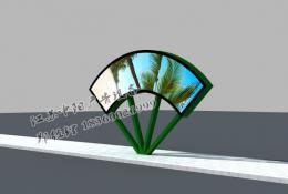 绿化带广告灯箱-绿化带灯箱zy-003