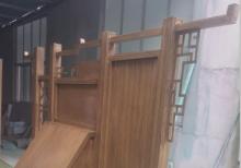车间实景-不锈钢木纹宣传栏生产现场---18360026999