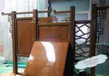 客户案例-广东客户采购不锈钢木纹宣传栏发货